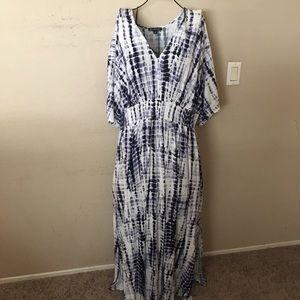 🎉Gorgeous Macy's inc maxi dress size 3X look🎉